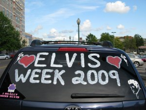 Our timing was perfect, we arrived at the start of Elvis week.