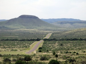 Texas route 166 - the scenic loop
