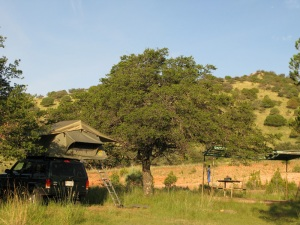 One of many beautiful camp sites in west Texas.