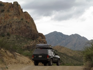 On the beautiful Pinto Canyon road.