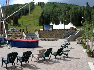 Durango ski resort across the street.