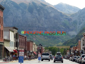 The Imogene Pass Run finishes in Telluride.
