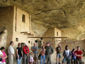 The awesome Balcony House at Mesa Verde.