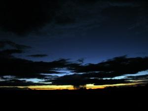 Night sky over Canyonlands.