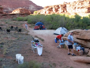 Our camp at Dead Horse.