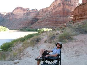 Pat enjoying the view.
