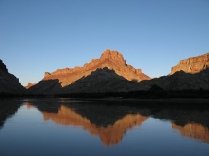 Reflections on the Green River.